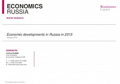 Economic developments in Russia in 2015 (#01)