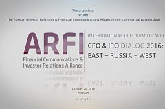 CFO & IRO Dialogue (Oct 20, 2016; ENG) - Part II
